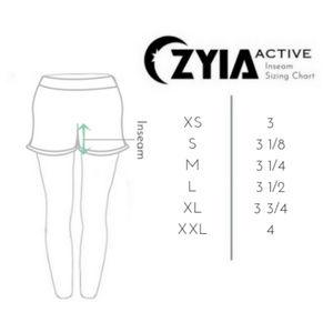 ZYIA Shorts - Floral Light n Tight Pocket Hustle Shorts - NWT